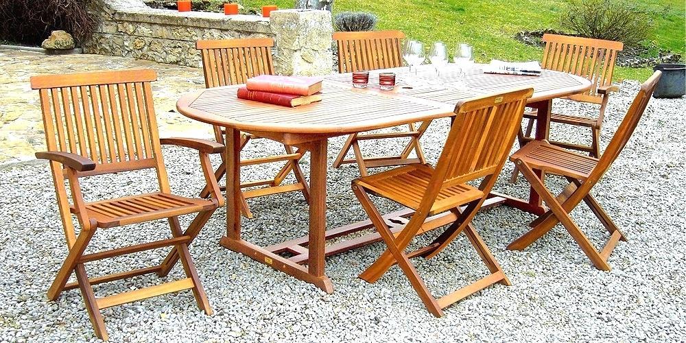 Mobilier de jardin en bois exotique Mailleraye jardin