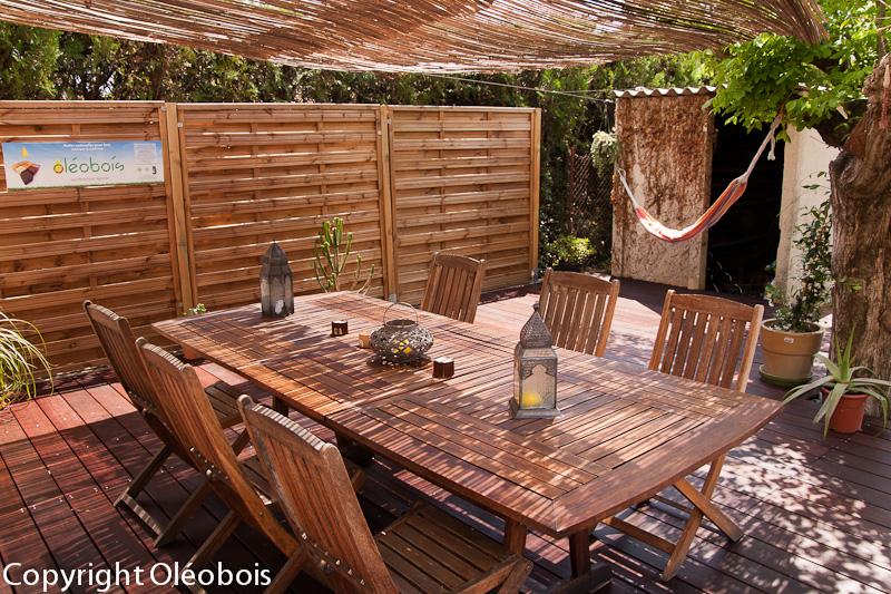 Rénover et nettoyer votre mobilier de jardin