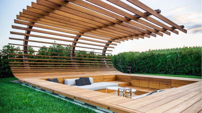 Salon De Jardin En Tonneau DT72