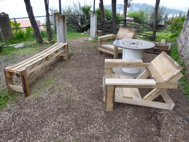 Mobilier De Jardin En Palette atelier Transformation Et Construction En Bois De Palettes