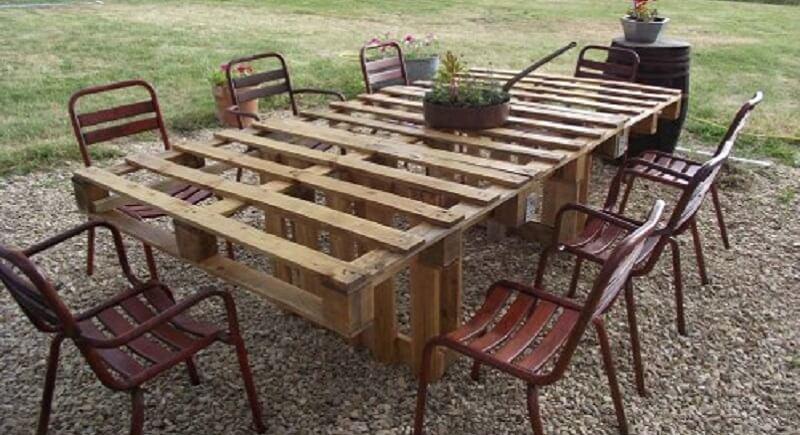 ment fabriquer son salon de jardin en palettes en bois