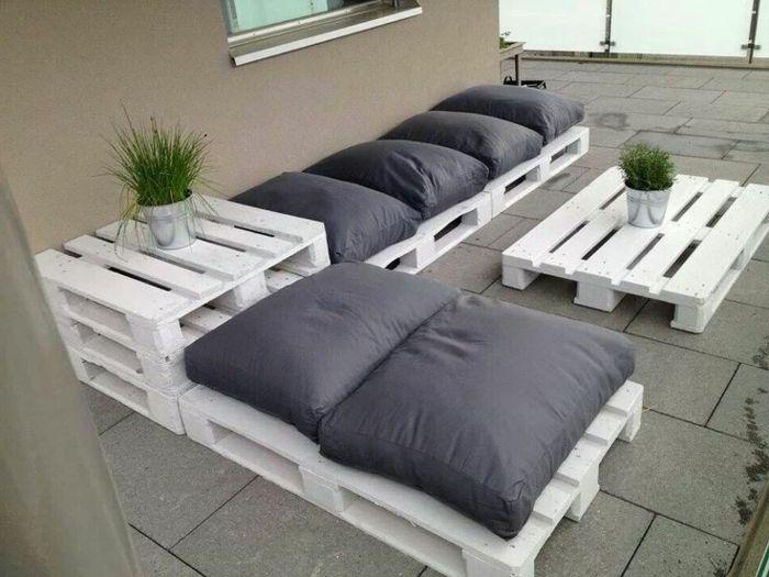 salon de jardin en palette canape palette meubles de