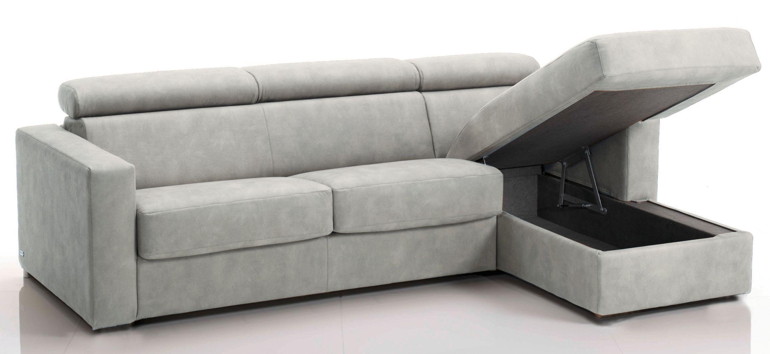 Canapé d angle convertible avec têtières Revêtement