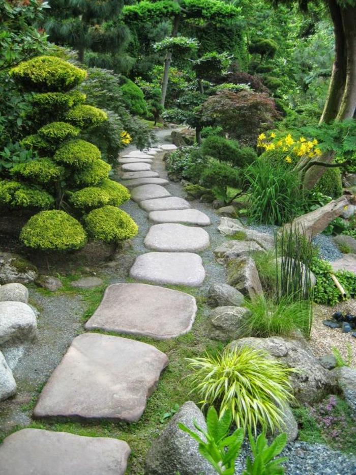 Modele De Jardin Japonais 1001 Conseils Pratiques Pour Une Deco De Jardin Zen Idees Conception Jardin Idees Conception Jardin