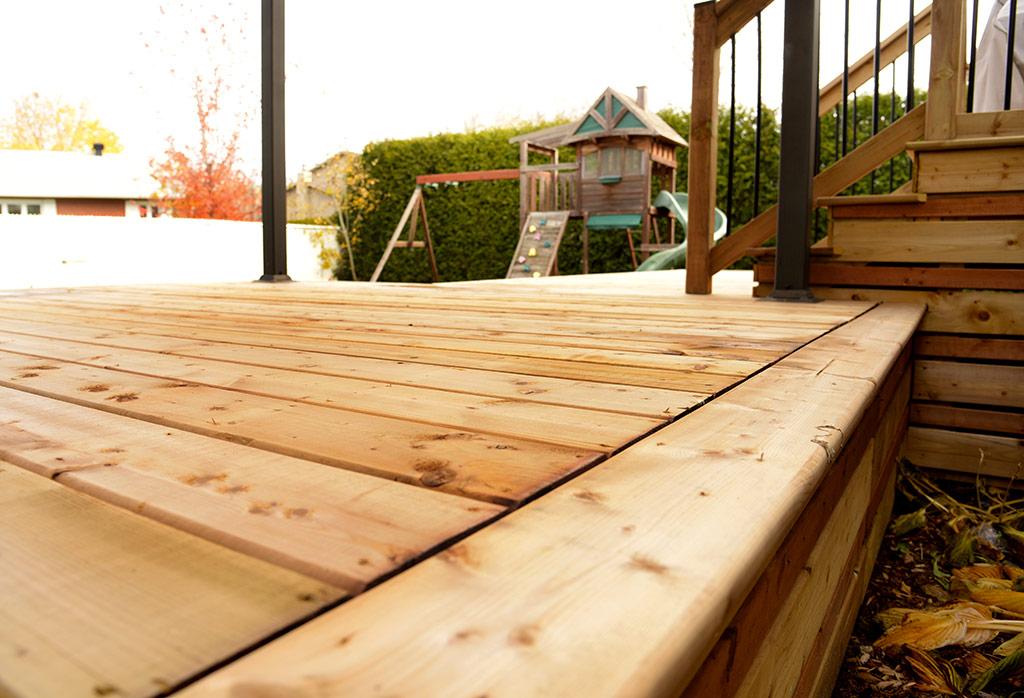 Construction terrasses bois et patios bois