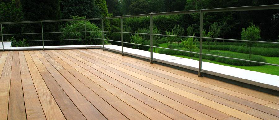 exemple modele terrasse en bois exterieur