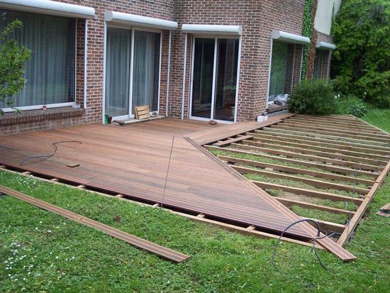 exemple modele terrasse en bois