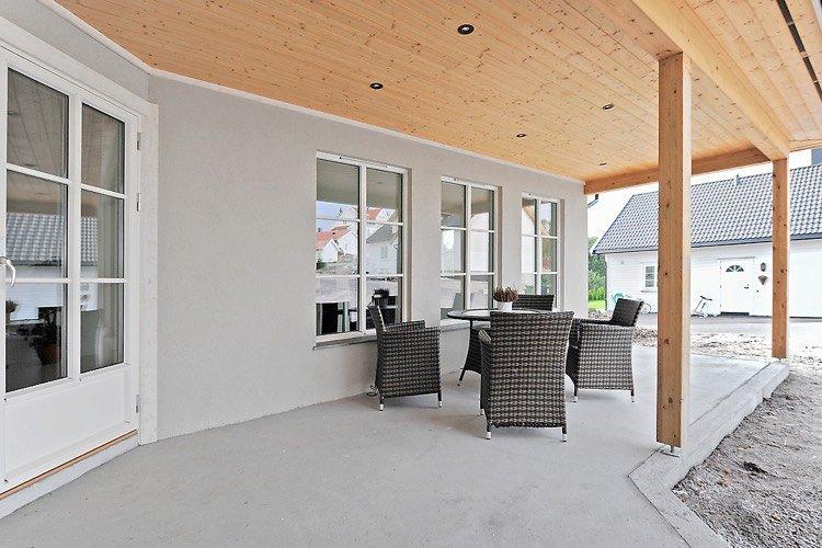 Modèle de terrasse extérieur béton –promesse d'une