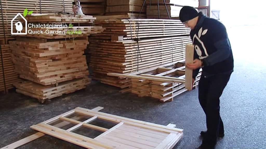 Le montage sans souci de votre chalet en bois