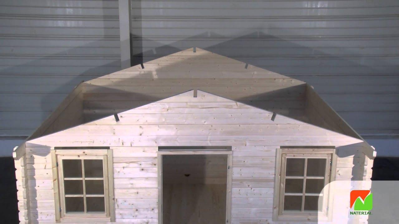 Montage abri de jardin Naterial TIIA 34mm