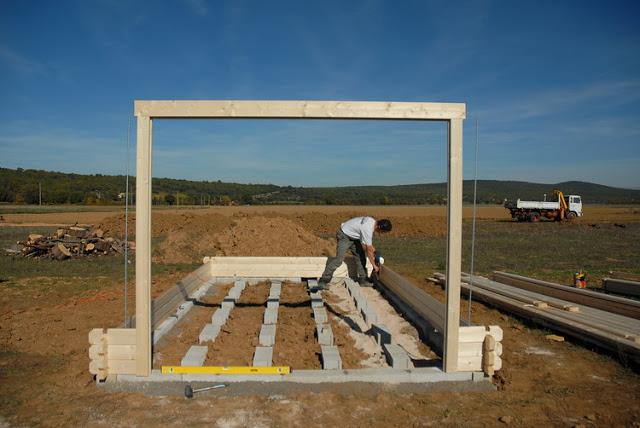 Notre maison en Provence Construction d un abri de jardin