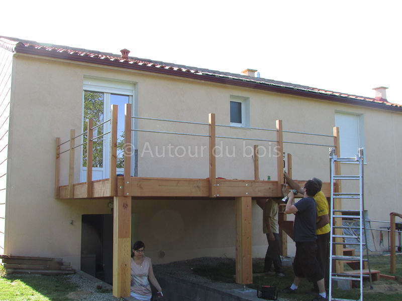 Acheter sa terrasse en kit Achat terrasse bois kit à monter