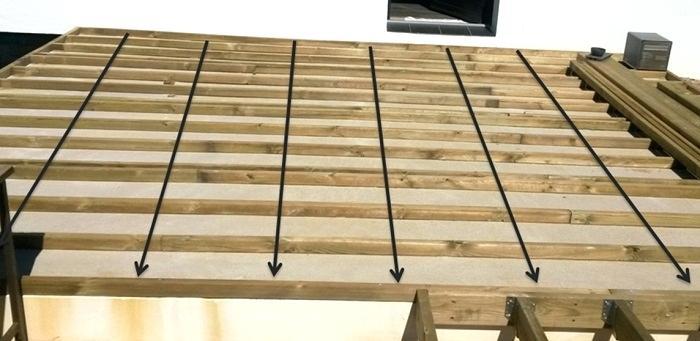 ment monter une terrasse en bois