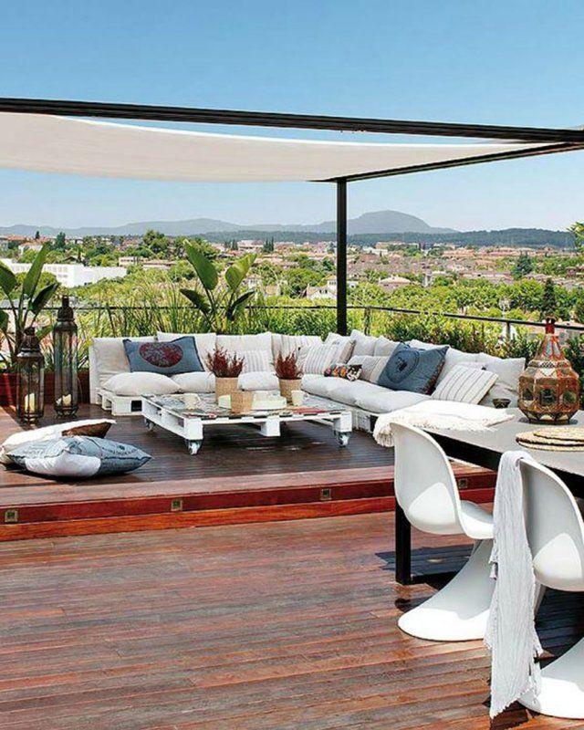 8 façons de délimiter sa terrasse avec style