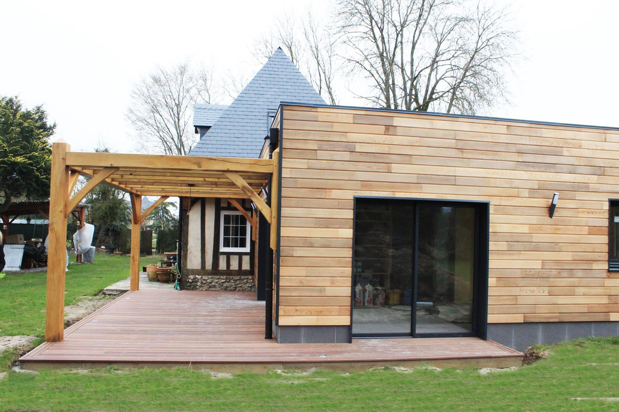 extension ossature bois – Alliance Bois construction