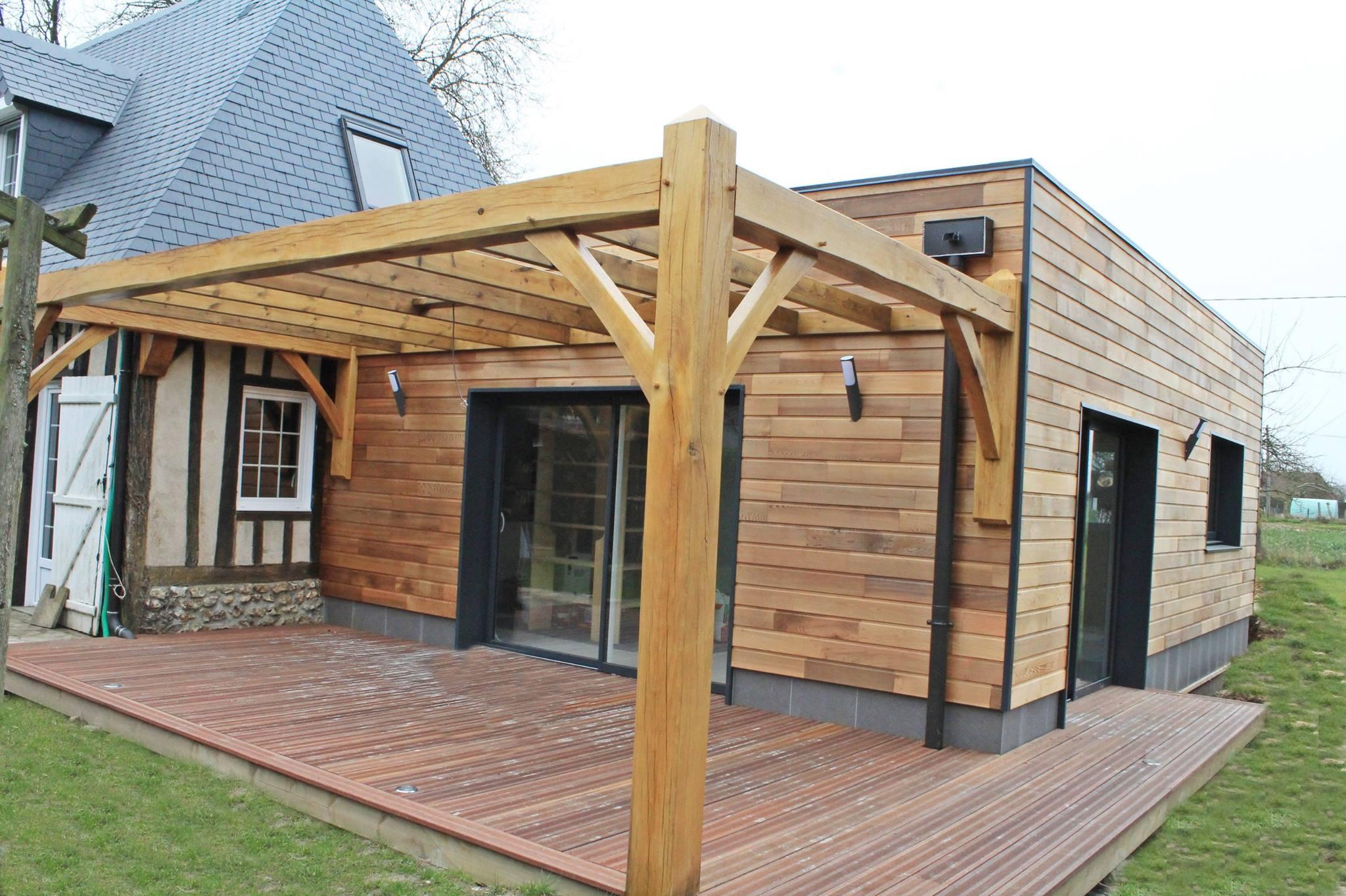 Ossature bois – Alliance Bois construction