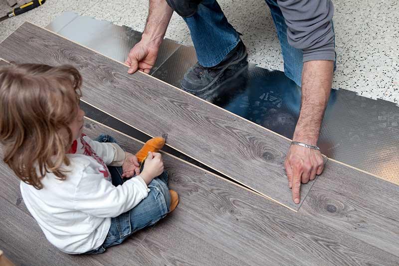 Schéma régulation plancher chauffant Prix pose parquet