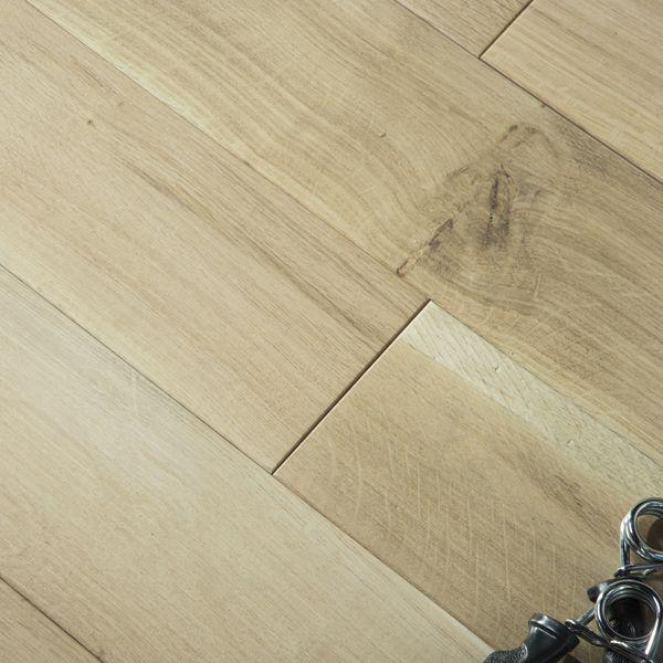 parquet chêne massif français huilé aspect bois brut 14mm
