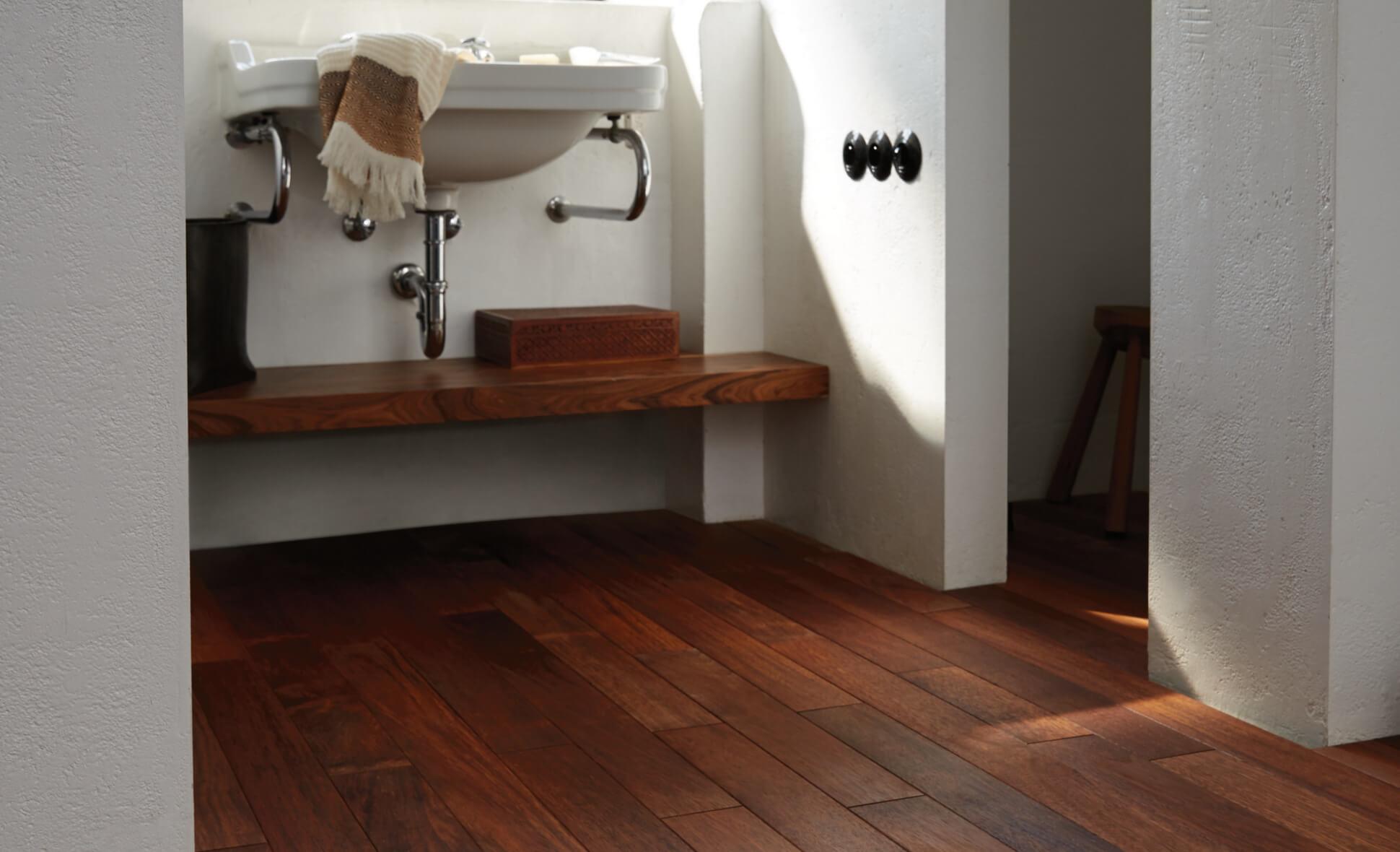 Le parquet dans la cuisine quel bois choisir Saint Maclou