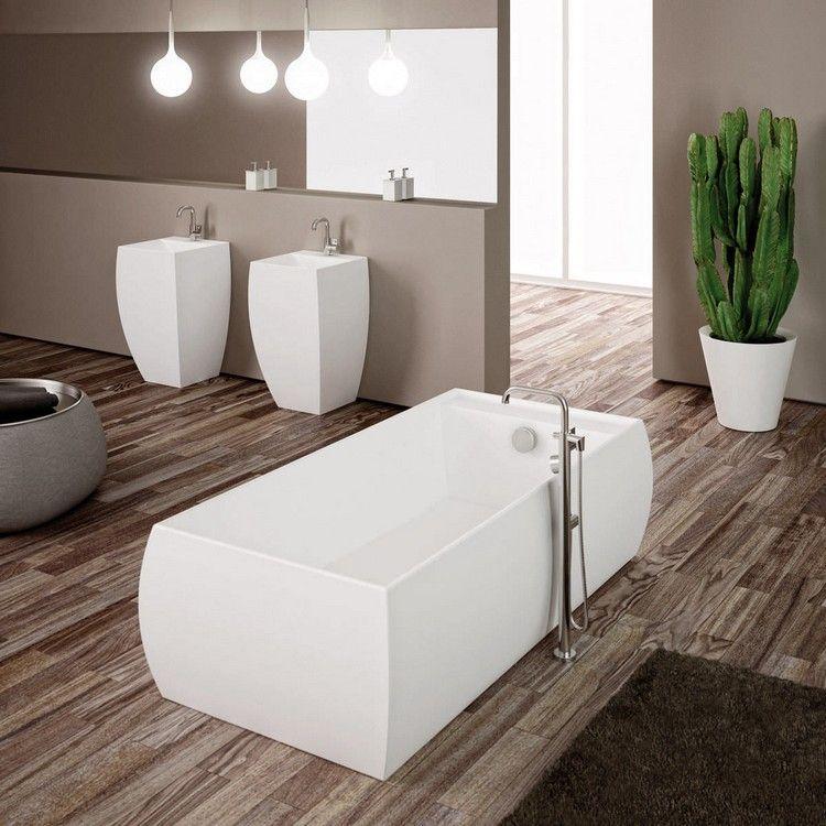 Parquet salle de bain pour ou contre sa pose