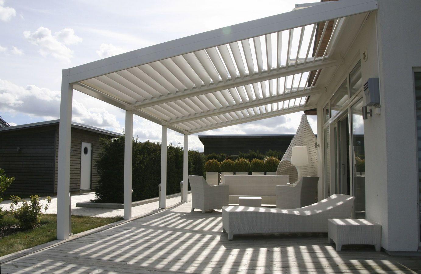 Pergola Aluminium Pour Terrasse Adossée Contre Mur Pergola Bioclimatique