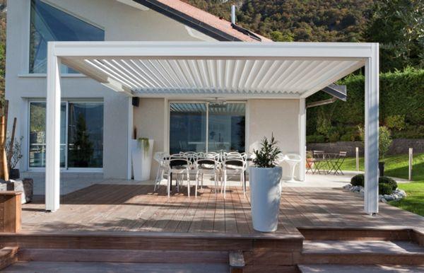La pergola bioclimatique décoration et fonctionnalité