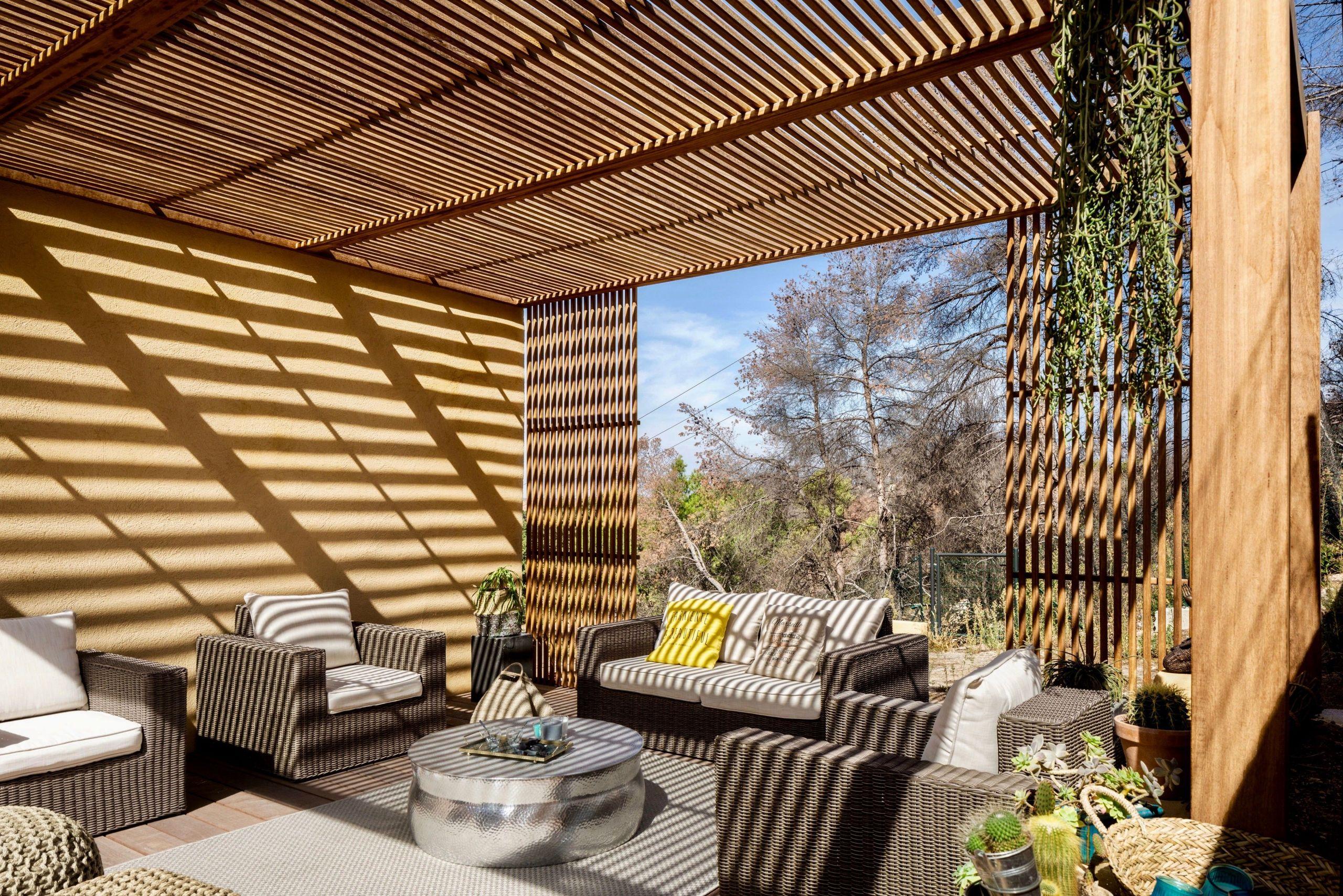 PERGOLA BOIS EXOTIQUE Aménagement de terrasse en bois à