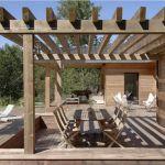 Pergola De Terrasse Pergola En Bois Et Aluminium à Genève Et Suisse Romande