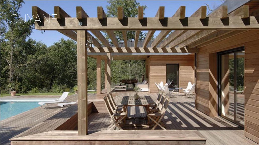 Pergola en bois et aluminium à Genève et Suisse romande