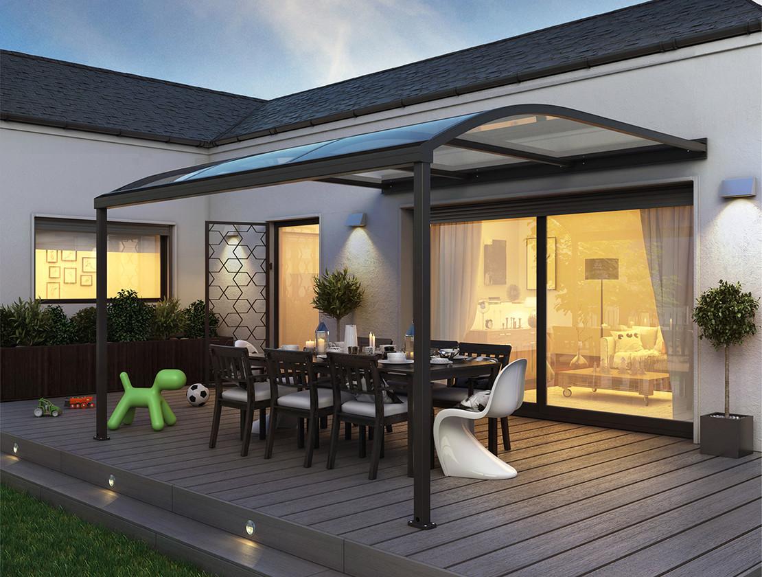 Pergola pour terrasse en aluminium
