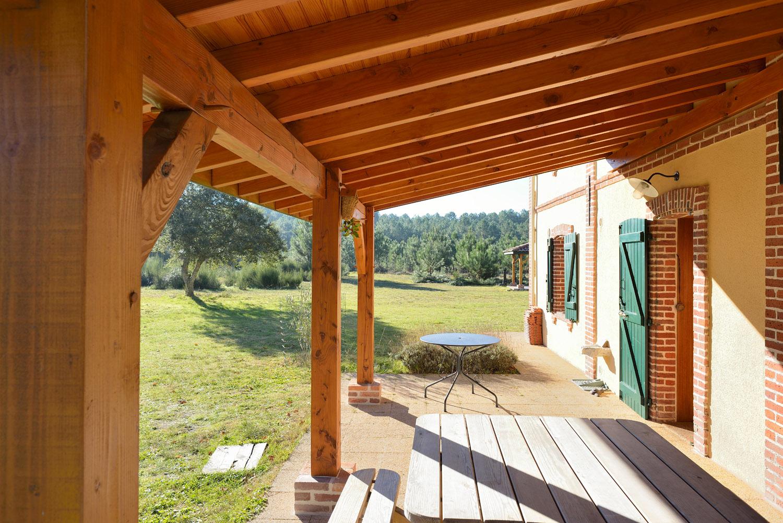 Terrasses et pergolas Construction de maisons en bois