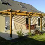 Pergola De Terrasse Votre Magazine Pour Le Bricolage Et Le Jardinage
