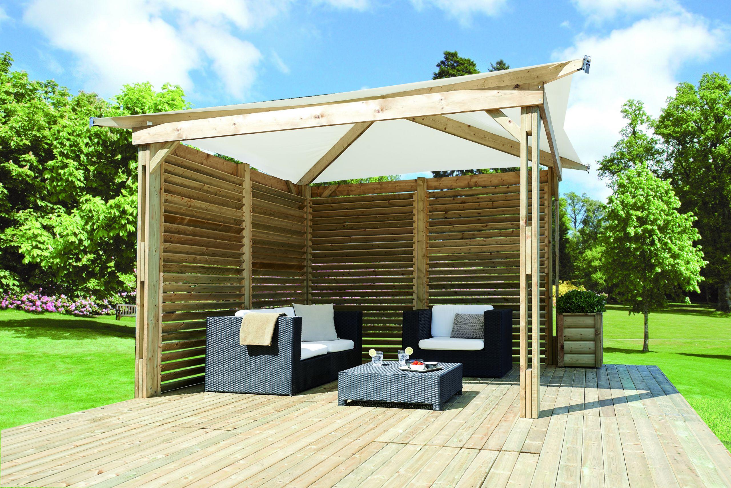 Terrasse Fermée En Bois pergola fermée pour terrasse pergola bois fermée maison