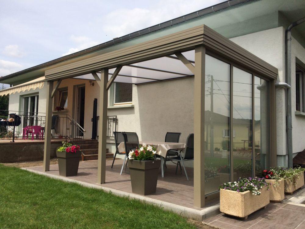 Auvents Pergolas Alu Bois pour terrasse en Lorraine