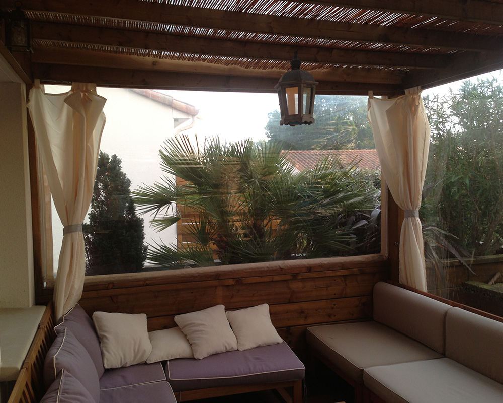 pergola bois couverte pour terrasse