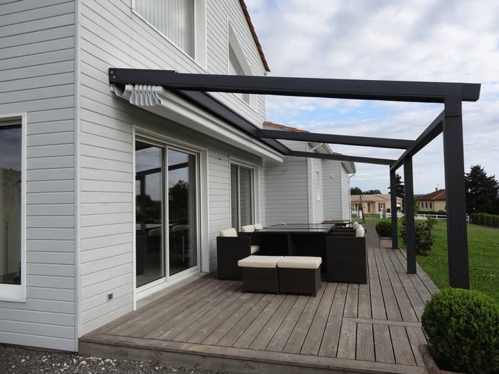 Pergola sur terrasse en hauteur veranda styledevie