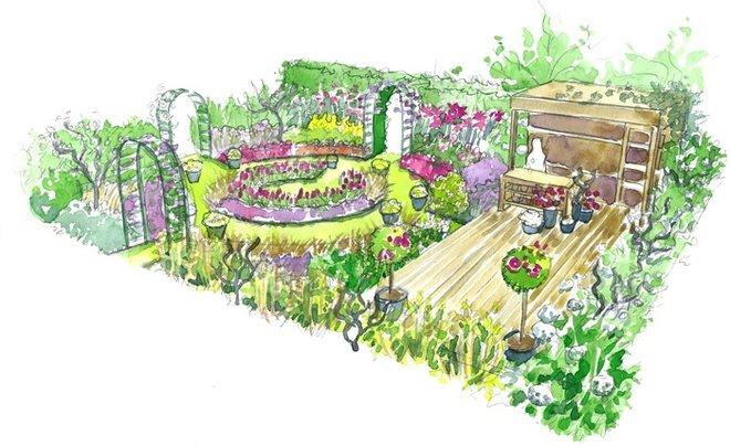 Conseils de paysagiste un jardin fleuri