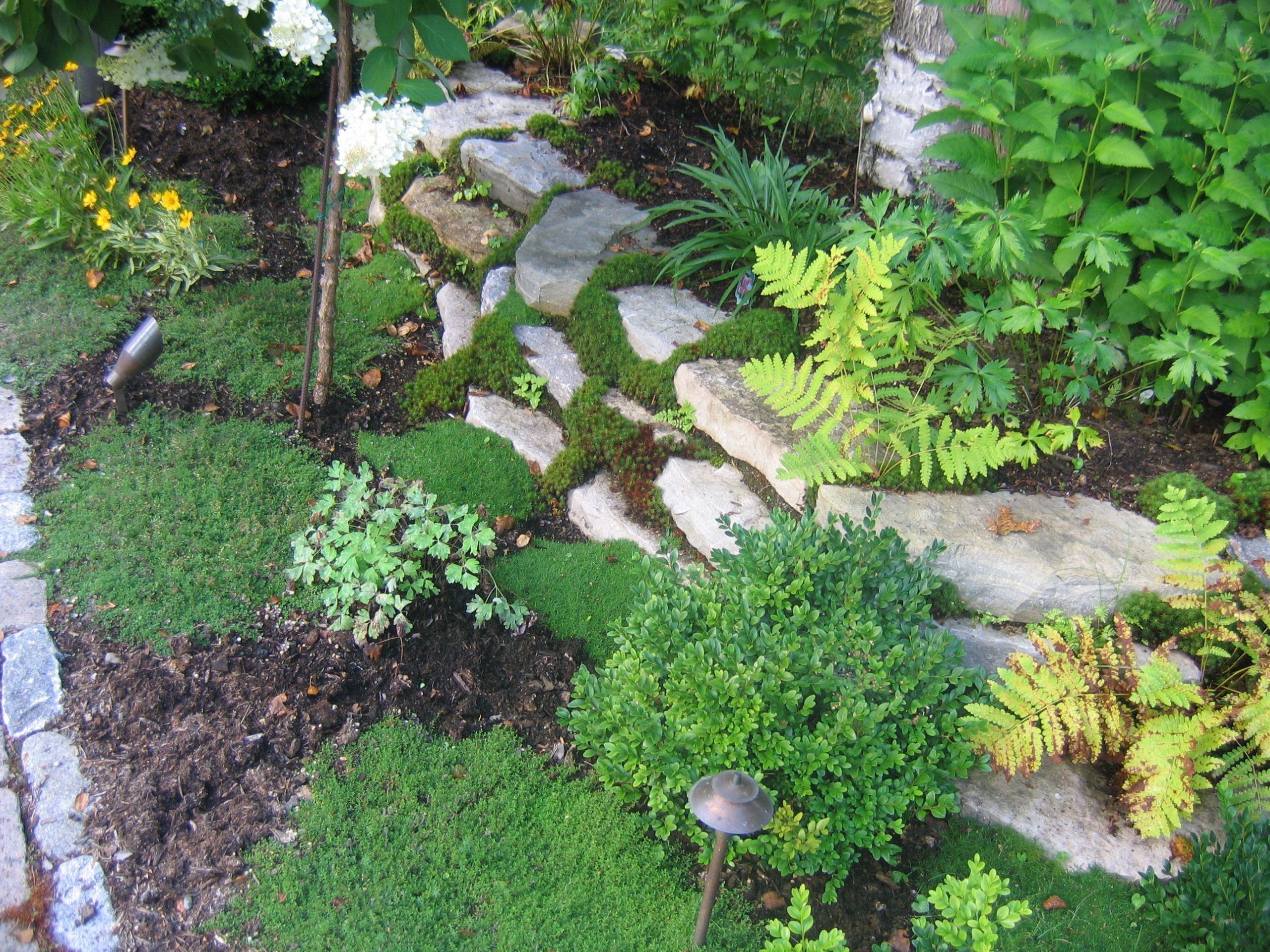 La stabilité d un jardin part de la préparation en amont