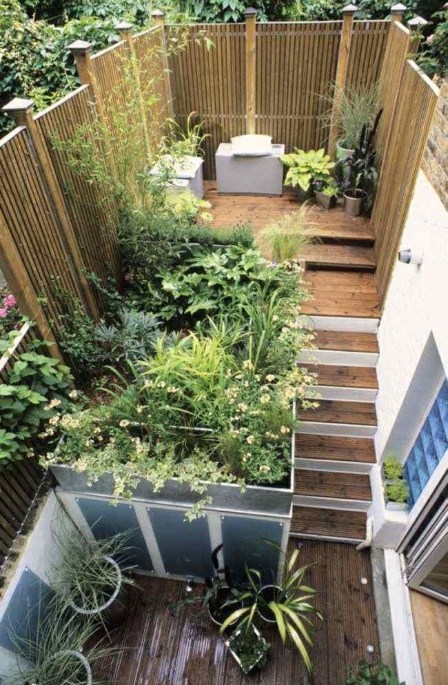 Petit jardin clos – designs appropriés pour l espace restreint