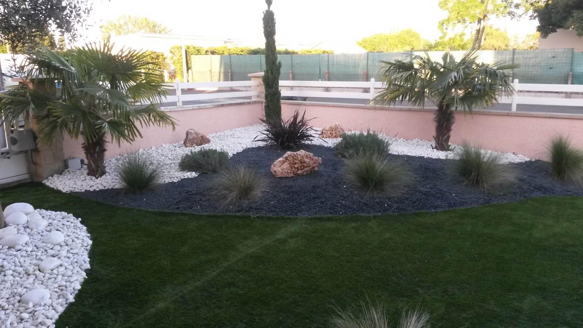 Petit jardin exotique Concept Paysager