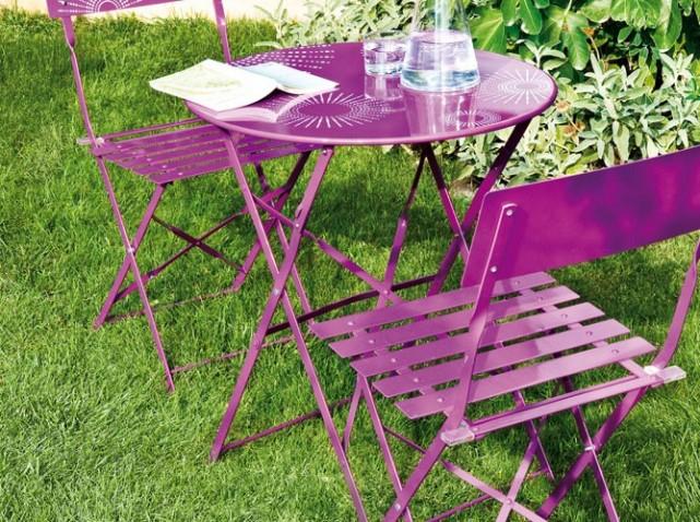 Petite table jardin pas cher Cabanes abri jardin