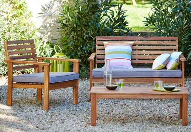 Un mini salon de jardin pour petit espace Joli Place