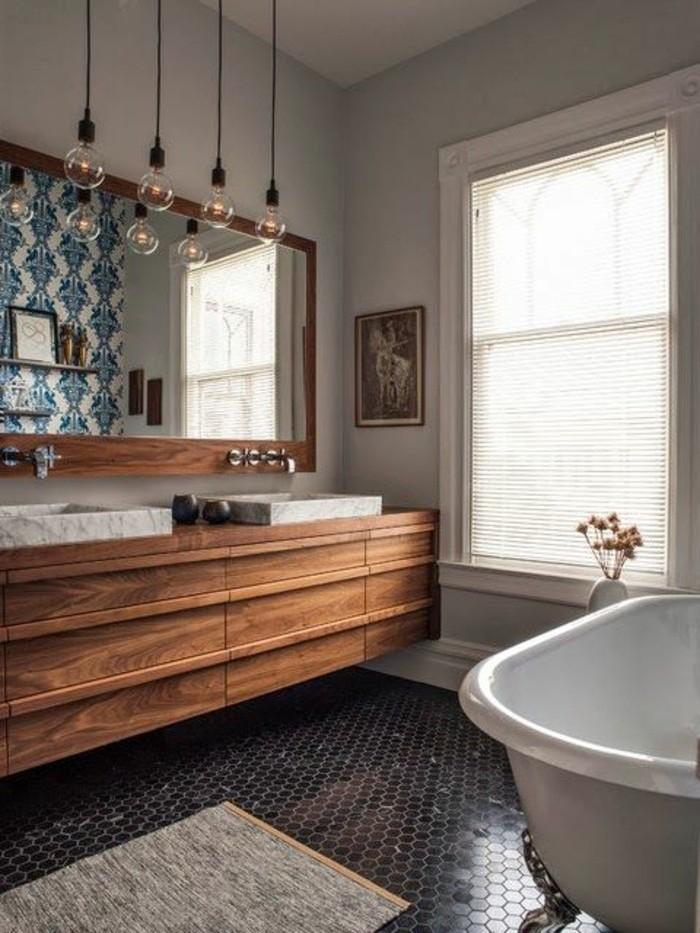 Mille idées d'aménagement salle de bain en photos