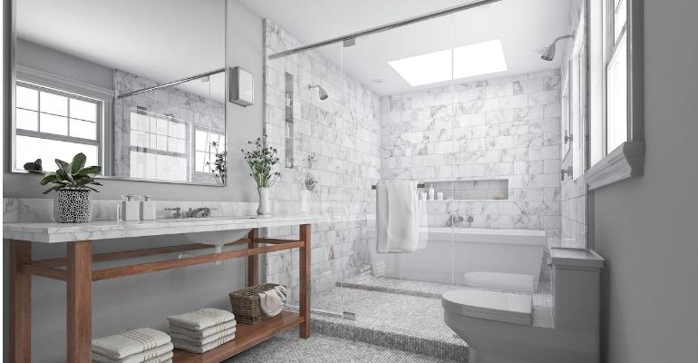 Tendances salle de bain 2019 Blogue
