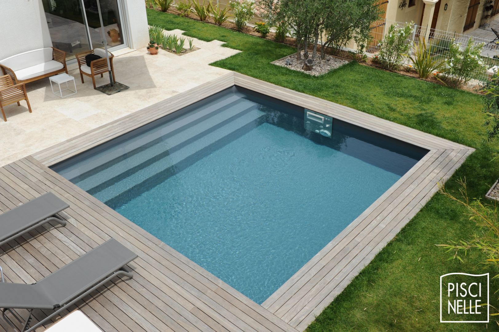 Diaporama de photos de piscines design et contemporaines