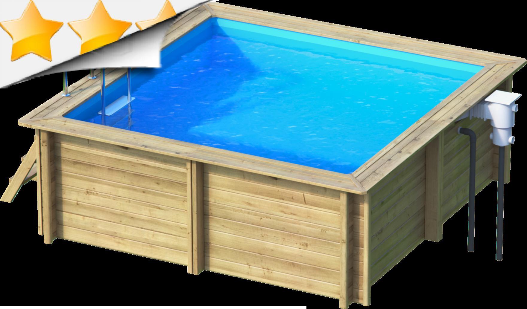 piscine bois carree 3x3