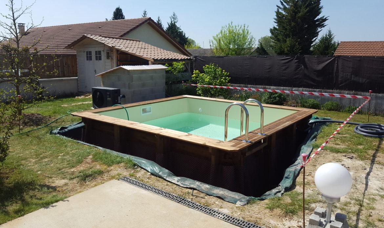 Piscine En Palette De Bois piscine bois carrée piscine en bois carrée piscine sur
