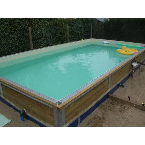La piscine bois enterrée Ecotika spéciale des piscines bois