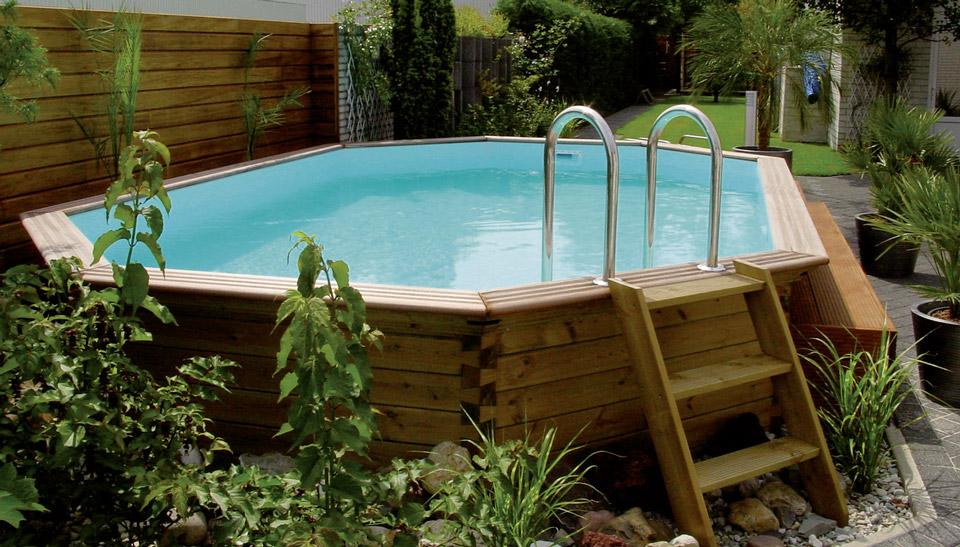 Les piscines en bois essence traitement et entretien