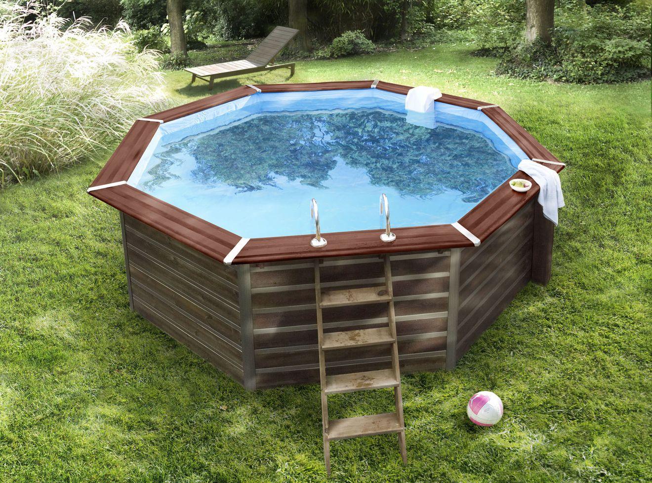 Piscine Hors Sol Bois Petite Dimension piscine bois pas cher piscine hors sol bois ovale promanip